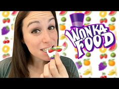 Willy Wonka and the Chocolate Factory includes a classic scene where his guests try out fruit-flavored lickable wallpaper. The guys at Hellthy Junk Food Roald Dahl Day, Raising Canes, Edible Food, Interactive Activities, Willy Wonka, Chocolate Factory, Trans Fat, Saturated Fat, Milkshake