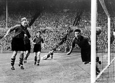 FA Cup Final, 1949. Wolverhampton vs. Leicester.