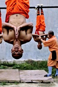 ♂ World martial art Chinese Kungfu Shaolin monks.