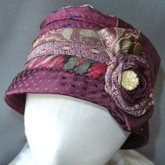 hat from ties: Repurposed #necktie  diy ideas.