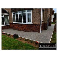 Resin Gravel, Resin Driveway, Stone Path, Swansea, South Wales, Pathways, Garage Doors, Patio, Outdoor Decor