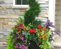 72 Container Flowers, Container Plants, Container Gardening, Large Flower Pots, Flower Planters, Potted Plants For Shade, Front Yard Garden Design, Florida Plants, Short Plants
