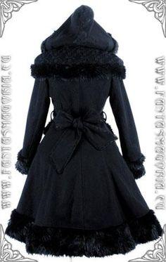 cafa11925497e I found  FantasmAgoria    DOLLY COAT GOTHIC ROMANTIC WOMEN`S CLOTHES  on