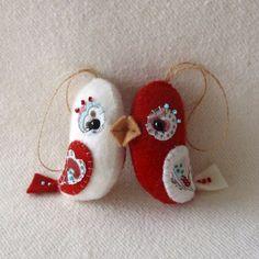 Cute Valentine birds