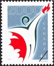 Canada-stamp-1835-canada-millennium-partnership-program-logo-46-2000-2981