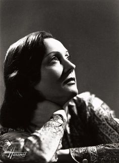 Studio d'Ora, Portrait of Arletty, 1930's