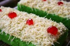 Resep Brownies Kukus Pandan Keju Ekonomis Ala Ny Liem | Resep Kue Kering-ku :)