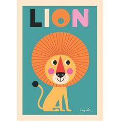 Affiche Ingela P. Arrhenius Lion