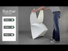 Flux Chair Folding Instructional Video - YouTube