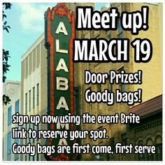 Alabama meet up! Get tickets now!!!! Looking for Alabama and surrounding area poshers!!!!! Come one, come all!  Everyone is invited to our meet up on March 19th!!!!  We will have a great time!! Space is limited, so sign up today!!! Other