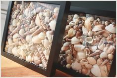 What to do with all the shells you picked up on your trip to Gulf Shores. It would be really cute to add the date of your trip or maybe an initial on to the glass. #GulfShoresPlantation