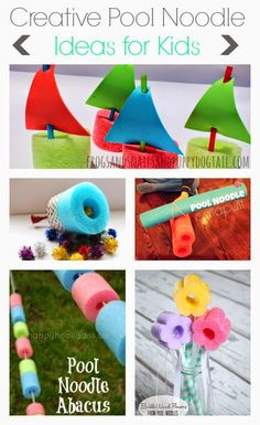 Creative Pool Noodle
