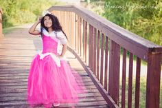 Sleeping Beauty Tutu Dress Tutorial: No-Sew Disney Aurora Dress