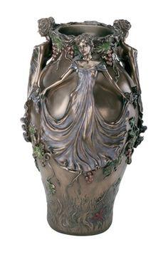 Art Nouveau vase.