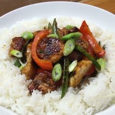 Joe Wicks Social Try this banging sticky orange chicken Fast Healthy Meals, Healthy Eating Recipes, Veg Recipes, Quick Meals, Chicken Recipes, Cooking Recipes, Work Meals, Lean Meals, Joe Wicks Recipes