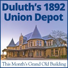 The 1892 Duluth Union Depot