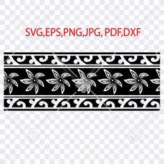 #polynesiansvg #polynesiantribalsvg #polynesiantattoosvg #stencilforcricut #Stencilforsilhouette Polynesian Tribal Tattoos, Tribal Sleeve Tattoos, Tribal Tattoo Designs, Border Pattern, Border Design, Cricut, Blog Backgrounds, Postcard Printing, Band Tattoo