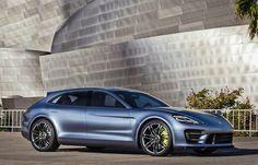 Porsche Panamera Sport Turismo 4 door
