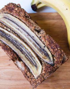Banaanileipä viidellä ainesosalla (Gf, V)