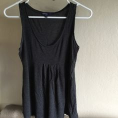GapMaternity Tank Top Maternity tank top from GapMaternity. I wore this when I first became pregnant at 130 pounds until delivery at 180 pounds. Super comfy and cute. Can fit a Small to a Large. GapMaternity Tops Tank Tops