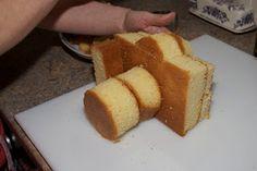 How to make a camera cake.