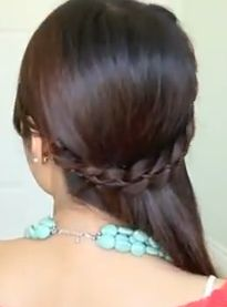 Makeup and How to Style for Girls: 4-Strand Lace Braid Hairstyle for Long Hair Tutorial