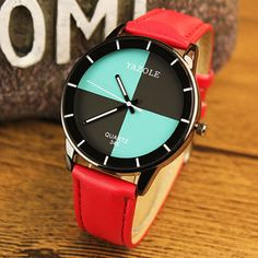 YAZOLE Watch Women Watches Waterproof Leather Fashion Watch Ladies Watch Lady Hour montre femme relogio feminino reloj mujer Like if you remember Visit our store