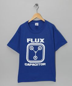 Take a look at this Crazy Dog Royal Blue 'Flux Capacitor' Tee - Kids by Scientific Style: Kids' Tees on #zulily today!