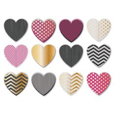 Adorn your walls with whimsical heart-shaped decor.