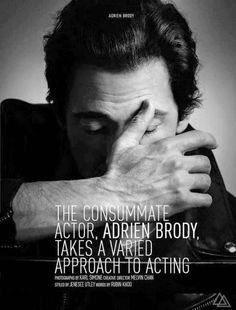 Adrien Brody para August Man Malasia