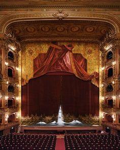 The Teatro Regio Opera House in Turin, Italy.
