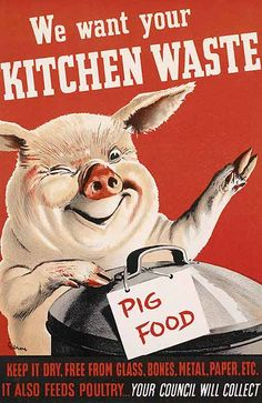 Vintage Ministry of Food posters -A new exhibition at London's Imperial War Museum (Feb 12 to Jan 3 2011) paystribute to a nation's creativity and resourcefulness in the face of wartime – and peacetime – food rationing. Here is some of the eye-catching British Government propaganda used on the 'Kitchen Front' during that time.