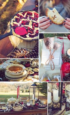 How to Throw a Pie Party by StylingMyEveryday.com. Perfect for fall!