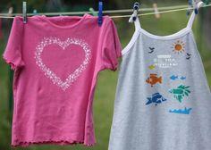 Maľujeme na textil s deťmi