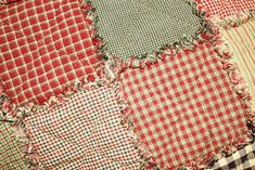 Rag Quilt Instructions....tells you how many squares/yards you need for a certain size quilt depending on size of squares.