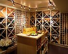 What an amazing wine room!  It has it all!