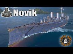 World of Warships: The Novik - YouTube