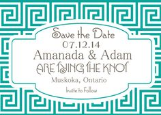 A personal favorite from my Etsy shop https://www.etsy.com/ca/listing/182709665/digital-file-save-the-date-mediterranean