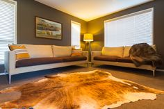 The family room with a warm and relaxed vibe.