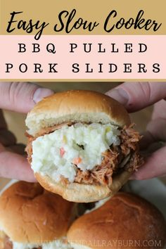 msg 4 21+ | SLOW COOKER BBQ PULLED PORK SLIDERS | Is your mouth watering yet? Head over to the blog to grab this ah-mazing recipe that perfectly pairs with your favorite brew! [ad] #BeersAndBuns