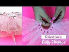 BABY SHOWER / Dulces para decorar un Baby Shower - Hablobajito - YouTube