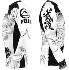 Another awesome judo rashguard.