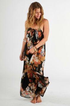 ISHINE365 | floral maxi dress