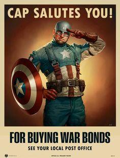 Buy War Bounds!!! Marvel Comics, Arte Dc Comics, Marvel Heroes, Marvel Dc, The Avengers, Samurai Jack, Jack Kirby, Captain America Suit, Avengers