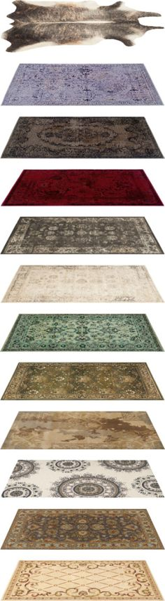 """""""50+ Rug Collection"""" by synderella ❤ liked on Polyvore"""