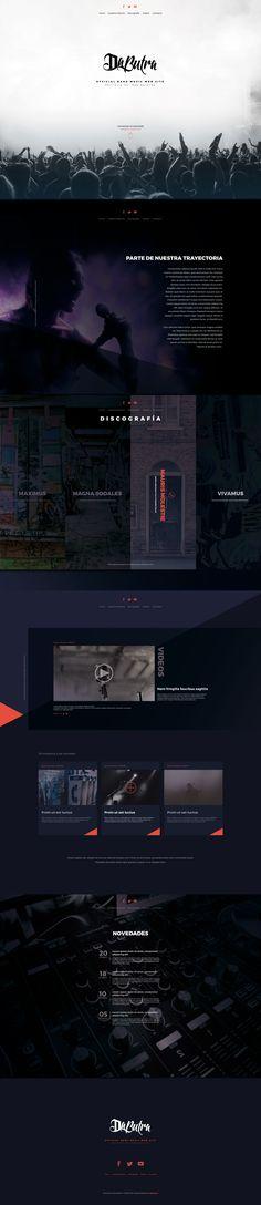 Music Theme - Web Design #WebDesign #Inspiration #WebSite #UX #FrontEnd Web Design, Desktop Screenshot, Website, Music, Inspiration, Product Development, Design Web, Musica, Biblical Inspiration