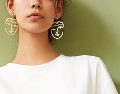 Chic' Chic Earrings Gold