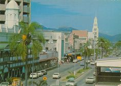 1970 - Flinders Street, Townsville | Queensland Places Photographs, Street View, Australia, Places, Photos, Lugares, Cake Smash Pictures