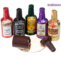 Anthon Berg Liquor Filled Chocolate Bottles: Galliano is your favorite! :)