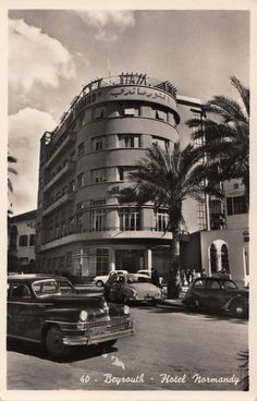 The hotel by day... This is old Beirut